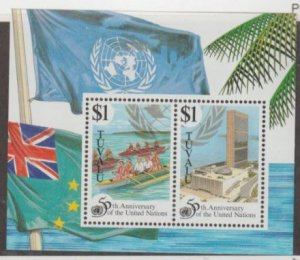 Tuvalu Scott #708 Stamps - Mint NH Souvenir Sheet