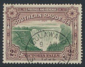 Southern  Rhodesia  SG 35  SC37b Used ? FU    perf 12½  See scan