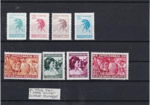 Yugoslavia 1936 + 1940 Child Welfare  Stamps Ref 30630