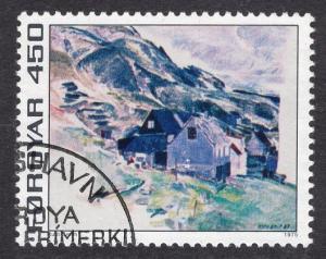 Faroe Islands   #19   1975 used  450 ore