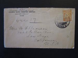 Mexico 1927 Cover to USA - Z5423