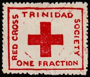 Trinidad & Tobago Scott B1 (1914) Mint H VF, CV $30.00 M