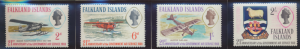 Falkland Islands Stamps Scott #180 To 183, Used - Free U.S. Shipping, Free Wo...