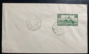 1946 Cairo Egypt First Day Cover FDC International Conference Of Civil Aviation