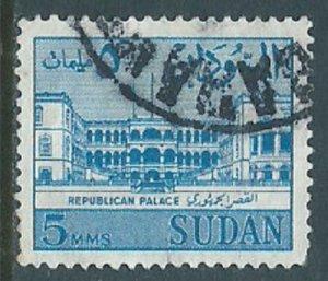 Sudan, Sc #146, 5m Used
