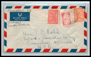 GOLDPATH: Saudi Arabia cover, To Evanston IL USA, CBHW_07_03