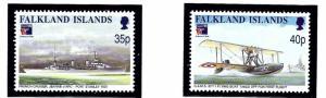 Falkland Is 731-32 MNH 1999 PhilexFrance