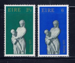 Ireland 312-13 NH 1971 Christmas set