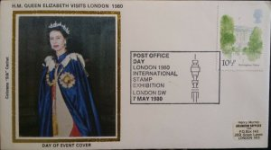 GB 1980 QE II Visits London 1980 Stamp Exhibition London SHS