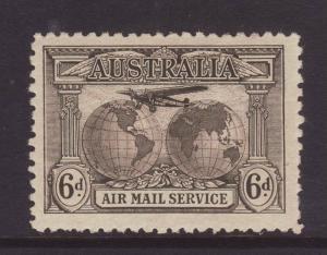 1931 Australia 6d Air Mail Mint SG139