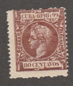 CUBA #173 MINT HINGED