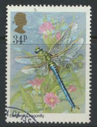 Great Britain SG 1281 - Used -Insects