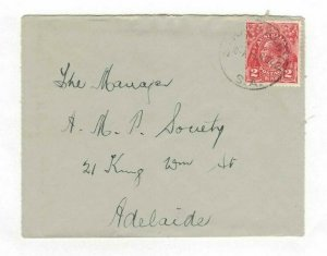 APH1429) Australia 1932 2d Red KGV Die I Small Cover