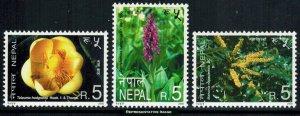 Nepal Scott 687-689 Mint never hinged.