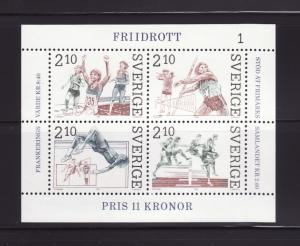 Sweden 1611 Set MNH Sports, Track and Field (D)