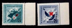 Russia Scott 2766-2767  MNH** Red Cross set