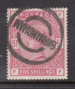 Great Britain #108 VF Used With Birmingham Cancel