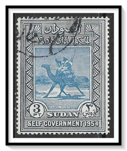 Sudan #116 Camel Post Used