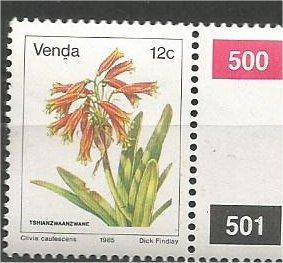VENDA, 1979, MNH 12c, Flowers, Scott 16