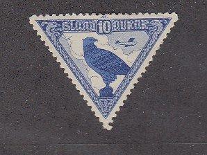 J25729 JLstamps 1930 iceland mhr #c3 bird
