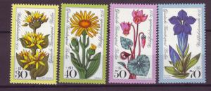J20749 Jlstamps 1975 berlin germany set mnh #9nb119-22 flowers