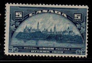 Canada Sc 202 1932 5c UPU Ottawa Meeting  stamp mint