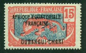 Ubangi-Shari 1924 #47 MH SCV (2018) = $0.80