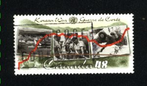 Canada #1993  -4 used VF 2003 PD