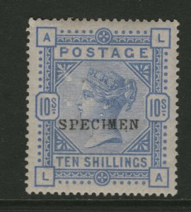 Great Britain #109s (SG #183s) Very Fine Mint Full Original Gum Lightly Hinged