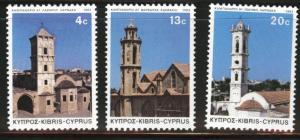 Cyprus Scott 618-620 MH* 1983 christmas set