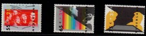 Netherlands Sc B623-25  1986 Youth & Culture stamp set mint NH