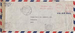 Meters 70c Meter 1945 New York, N.Y. Brokers and Selling Agents Slogan Airmai...