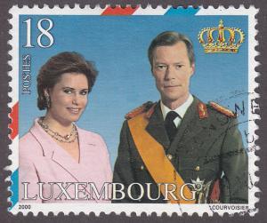 Luxembourg 1043 HRH Henri & HRH Marie Teresa 2000