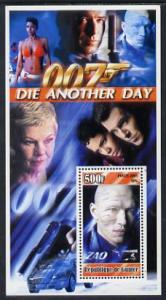 Guinea - Conakry 2003 James Bond - Die Another Day #1 per...