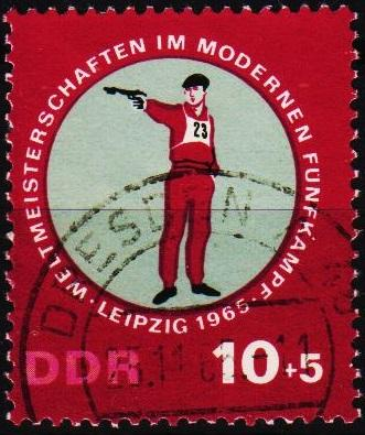 Germany(DDR). 1965 10pf+5pf  S.G.E856 Fine Used
