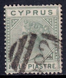 Cyprus - Scott #19a - Used - Pulled perf at top - SCV $3.00