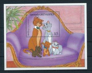 [22451] Grenada Grenadines 1988 Disney The Aristorats MNH