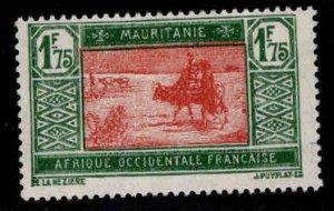 Mauritania Scott 50 MH* stamp