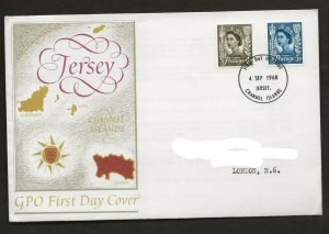 4/9/1968 4d +5d NEW JERSEY REGIONAL DEFINITIVE JERSEY FDI  POSTMARK  FDC