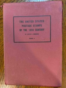 The US Postage Stamps of the 19th Century by Brookman,Stamp Philately Book