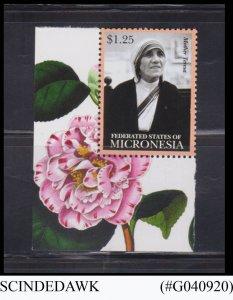 MICRONESIA - 2012 MOTHER TERESA 1V MNH