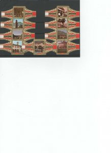 CIGAR BANDS....LUGANO...ALL DIFFERENT (CB-010)