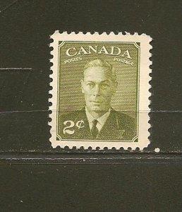 Canada 305 King George VI Single MNH