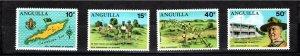 Anguilla 1970 Sc 95-8 MNH Commemorative Perforate