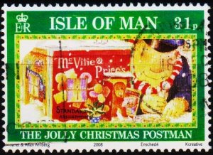 Isle of Man. 2008 31p Fine Used