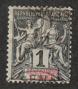 Senegambia & Niger - 1903 - SC 1 - Used