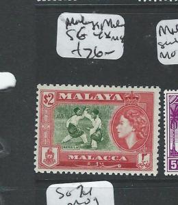 MALAYA MALACCA (P1108B) QEII  $2.00 SG48  MOG