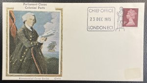 GB #MH61 Used on Cover Cachet - Bicentennial Parliament Closes Ports [CVR209]