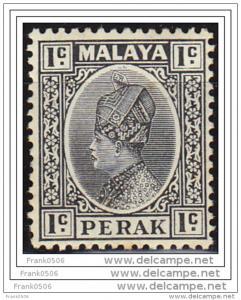 Malaya, Negri Sembilan 1935, Coat of Arms, 1c, sc#84, MNH