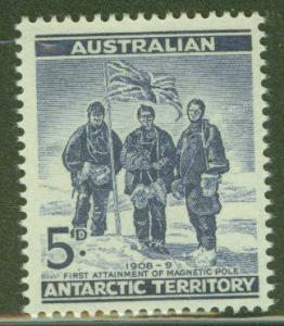 Australia Antartic Territory Scott L6 MNH** Flag stamp 1961
